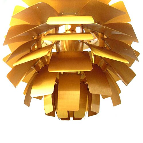 Kleine PH Artichoke Lamp in Gold
