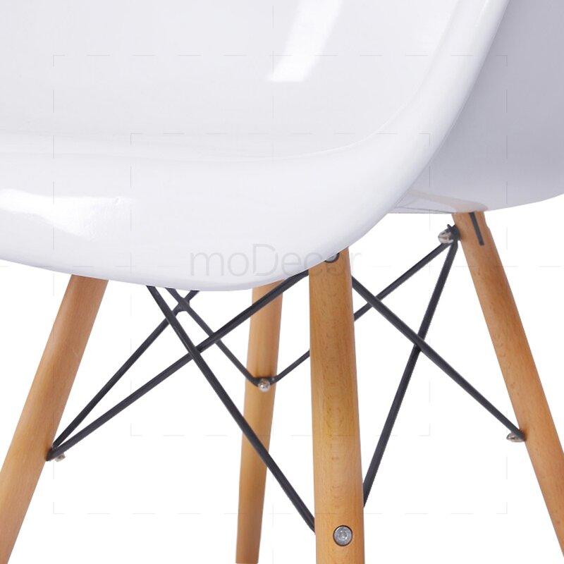 eames daw stuhl in wei 125 00 modecor hochwertige. Black Bedroom Furniture Sets. Home Design Ideas