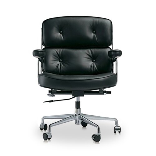 Eames Lobby Chair EA 104 - Black