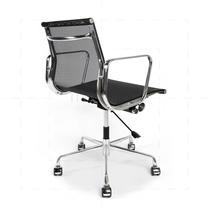 eames office chair mit mesh bezug in schwarz 288 00 modecor. Black Bedroom Furniture Sets. Home Design Ideas