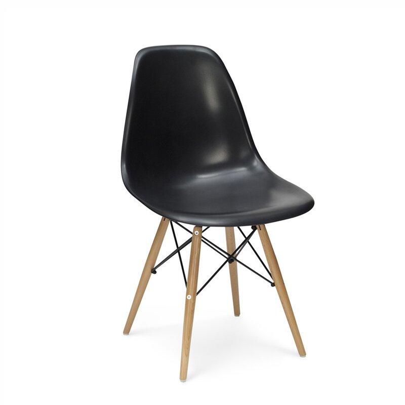 Eames DSW Stuhl In Schwarz, 125,00 U20ac   MoDecor   Hochwertige Des