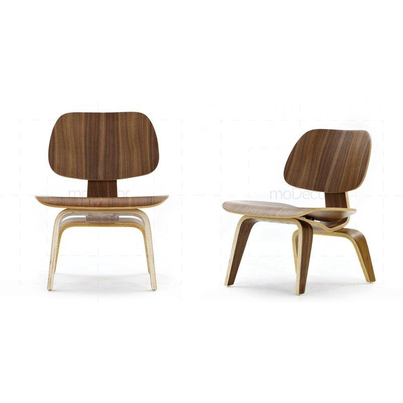2er set eames chair lcw stuhl aus rosenholz 399 00 for Eames stuhl replik