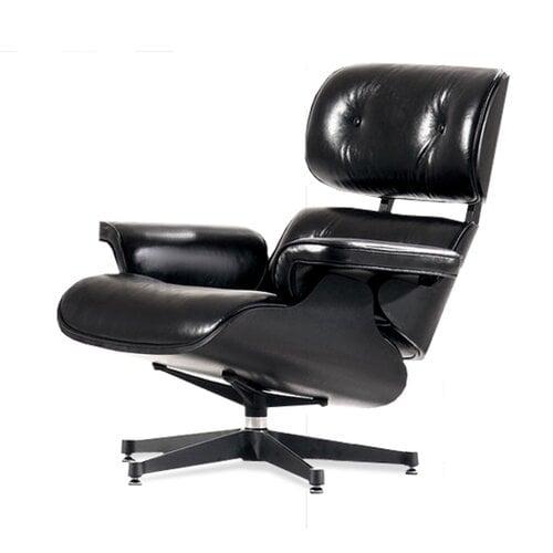 eames lounge chair schwarz mit schwarzem holz 799 00 mode. Black Bedroom Furniture Sets. Home Design Ideas