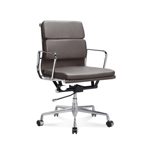 Eames Office Chair - Low Back - Soft Pad - Brown