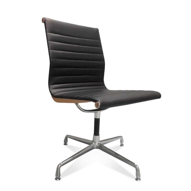 eames office chair ea 108 in zwart 341 09. Black Bedroom Furniture Sets. Home Design Ideas
