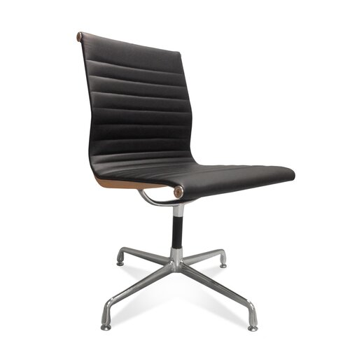 Eames Office Chair EA 108 in zwart