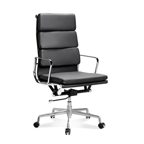 Eames Office Chair - High Back - Soft Pad - Black