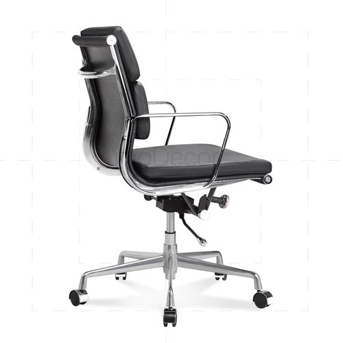 Eames Office Chair - Low Back - Soft Pad - Black
