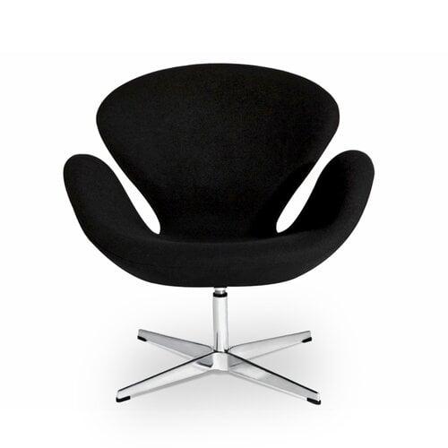 Arne Jacobsen Schwan Stuhl In Schwarz 45200 Modecor Hoch