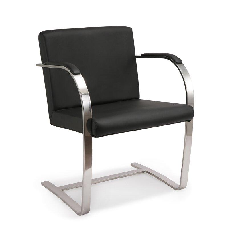 Chaise brno chair de mies van der rohe 504 40 - Mies van der rohe chaise ...